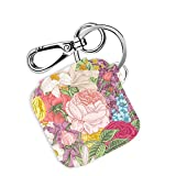 Case for Tile Mate & Tile Sport & Tile Style with Carabiner Keychain, Leather Cover Skins for Tile...