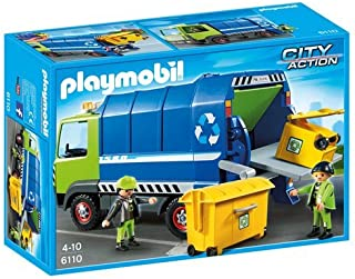 PLAYMOBIL® Recycling Truck Playset