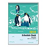 アピカ 18 Paperiスケジュール帳 A6M Penguin SA6M816