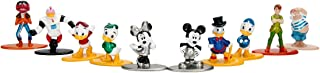 Jada Nano Metalfigs Disney 10 Pack Miniature diecast Figures, Multicolor, 1.65