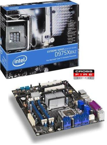 Intel Desktop Board D975XBX2 LGA 775 (Socket T) ATX Motherboard - Motherboards (8 GB, Intel, LGA 775 (Socket T), 10/100/1000 LAN, ATX, Intel High Definition Audio)