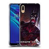 Head Case Designs Officiel Infinite Crisis Vampire Batman Personnages Coque en Gel Doux Compatible avec Huawei Y6 Pro (2019)