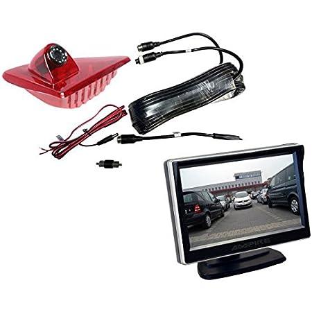 Ampire Rückfahrkamera Monitor Set Opel Movano Renault Elektronik