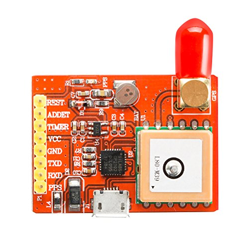 pzsmocn USB-Port-GPS Module, Including CP2102USB Serial Chip, Through The Serial Port or USB and Raspberry Pie to Send. Support Raspberry Pie Model A, B, A +, B +, Zero, 2,3. Self-Supporting AGPS