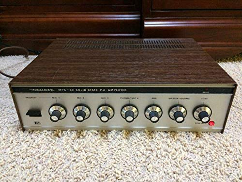 Amazing Deal Realistic Solid State P.A. Amplifier