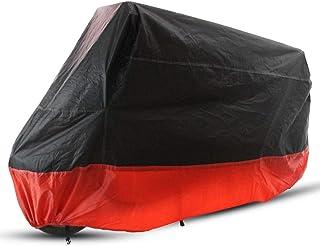 Eurobuy Silberbeschichtete Motorrad Moped Roller Abdeckung Atmungsaktive Outdoor Staub Regen UV Schutz wasserdichte Abdeckung XL
