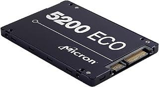 "Micron 5200 ECO 1.92TB 2.5"" SATA3 6Gbps 1DWPD SSD 3D TLC NAND 540R/520W MB/s 95K/22K IOPS 7mm Server Data Centre 3 Mil hrs..."