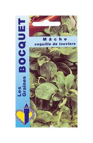 Les Graines Bocquet - Graines De Mâche Coquille De Louviers - Graines Potagères À Semer - Sachet De 5Grammes