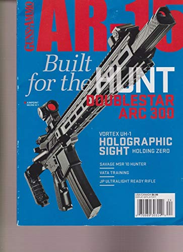 GUNS & AMMO AR-15 MAGAZINE #3 2017.