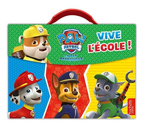 La Pat'Patrouille - Valisette de rentrée - Vive l'école !