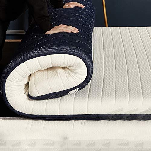 Suave Respirable Esponja De La Memoria Colchón, Espesar 10cm Tatami Colchón Sleeping Pad, Doble Cara Japonés Futón Estera De Meditación-a 120x190cm(47x75inch)
