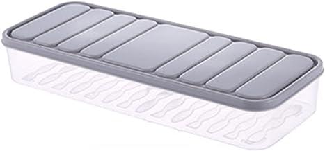 Valink Pojemniki na żywność, pojemnik na żywność na lodówkę wielokrotnego użytku cienkie pudełko do przechowywania świeżej...