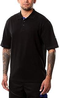 Goodyear Workwear GYTS022 herr arbete säkerhet bomull pikétröja arbetskläder topp, XL, Svart, 1