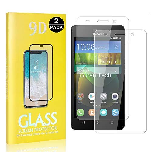 Huawei Honor 4C Displayschutzfolie, 9H Härte Schutz, Keine Luftblasen, Ultra-klar Schutzfilm aus Gehärtetem Glas für Huawei Honor 4C, 2 Stück