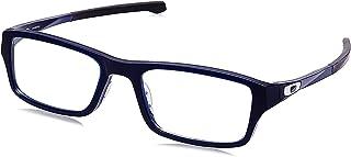OX8039-803914 Eyeglass Frame CHAMFER POLISHED BLUE ICE...