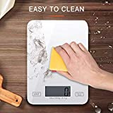 Básculas de Cocina Digital, Balanza Electrónicas de 11 LB / 5 kg para Cocinar...