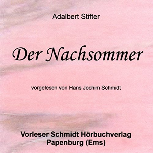 Der Nachsommer audiobook cover art