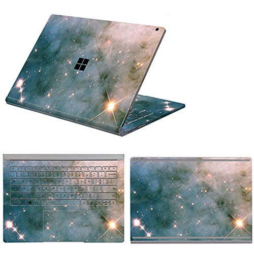 Full Body Cover Stickers for Microsoft Surface Book 3 Book 1/2 13.5 15 Inch Waterproof Decorative Laptop Protector Shell Skin-Option 12-Book 2 15 i7