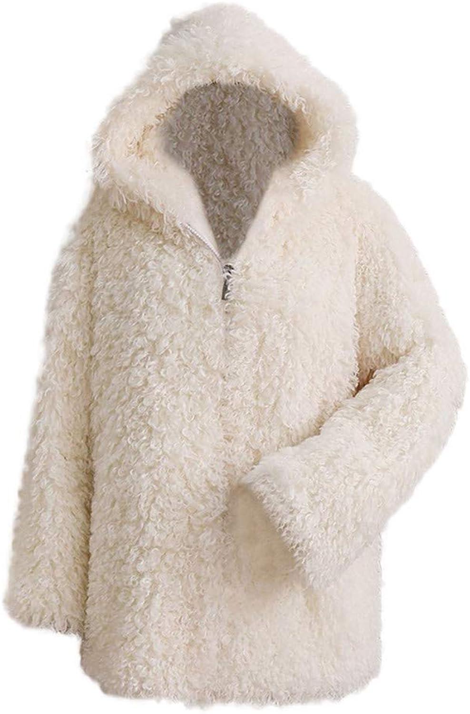 Joopee Women Fashion Winter Warm Thick Coat Solid Long Sleeve TurnDown Collar Long Overcoat