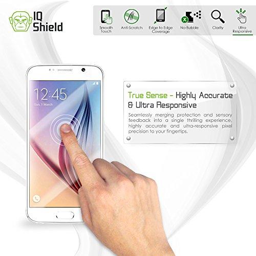 Galaxy S8 Plus Screen Protector, IQ Shield LiQuidSkin Full Body Skin + Full Coverage Screen Protector for Galaxy S8 Plus (S8+) HD Clear Anti-Bubble Film