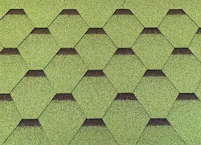 Isolbau Dachschindeln 24 m² Hexagonal...