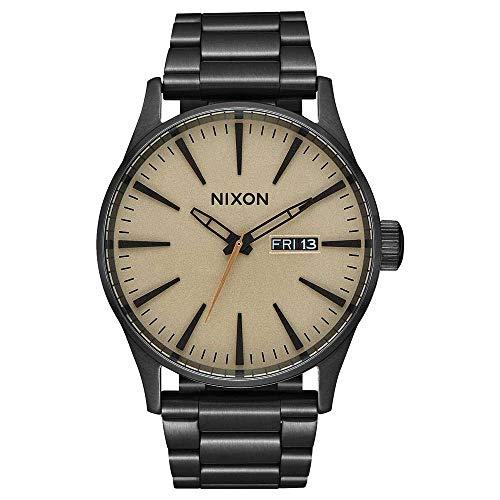Nixon Reloj Analógico para Hombre de con Correa en Acero Inoxidable A356-1439-00