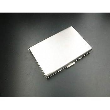 Myymee 8/SIM Card 8/micro SIM card Holders metallo in lega di alluminio SD porta carte di credito mobile phone memory card Storage Case argento argento 313-6 standard sim+6 micro sim+2nano sim S