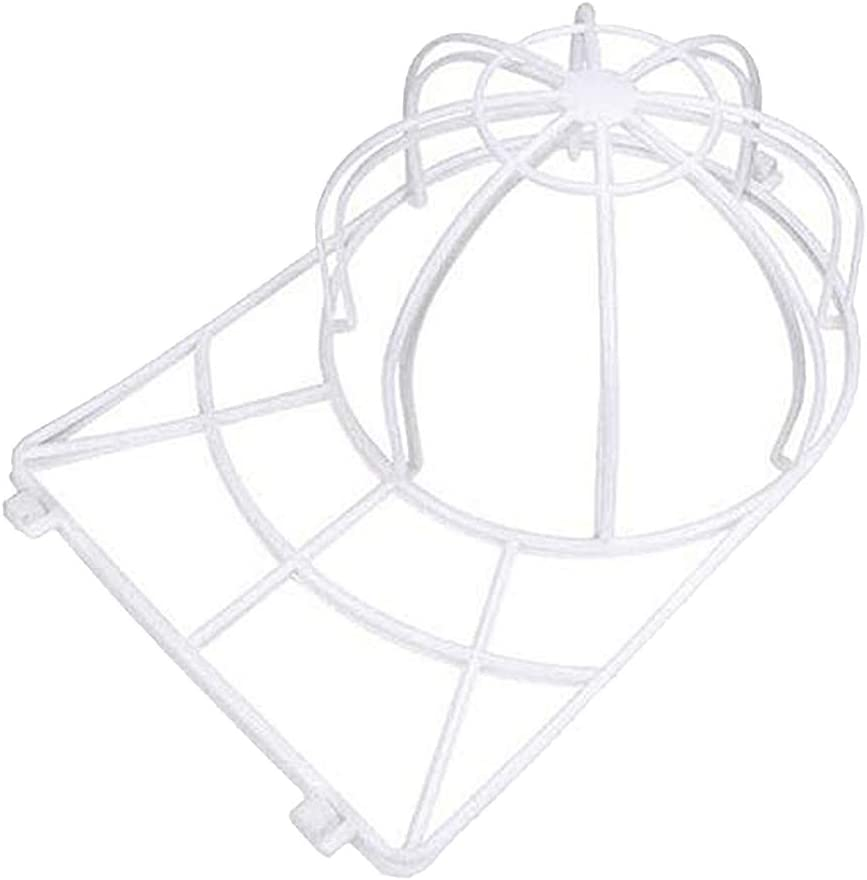 Baseball Hat Cleaner Cleaning Protector Washing Holder Washing Cage White FLAMEER Hat Washer,Cap Washer,Baseball Cap Washers