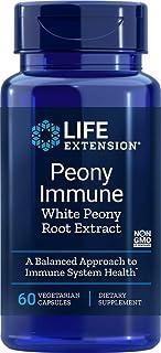 Life Extension Peony Immune 600 mg 60 Vegetarian Capsules