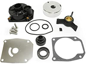 Full Power Plus Johnson Evinrude 40HP 50HP Water Pump Repair Kit Outboard Impeller Replacement Parts with Housing Sierra 18-3454 438592 433548 433549 777805