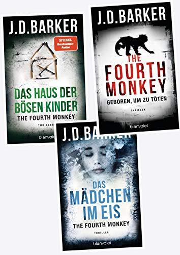 The Fourth Monkey J. D. Barker Sam Porter Serie (blanvalet)