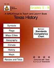 Texas History Grades 5-8: Greatways To Teach And Learn