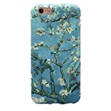 GOLINK iPhone 6 Case for Girls/iPhone 6 Floral Case, Floral Series Slim-fit Blossoming Almond Tree Van Gogh TPU Case for iPhone 6/6S (4.7 inch) - Blossoming Almond Tree