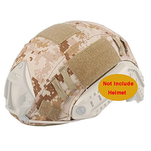 ATAIRSOFT Army Tactical Series Airsoft Paintball Fast Helmet Cover Multiple Colors (AOR1)