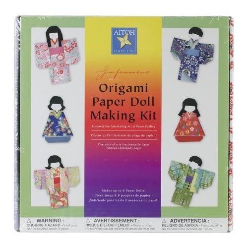 Shiori Ningyo : an Origami Doll #1 by cyaenn on DeviantArt   500x500