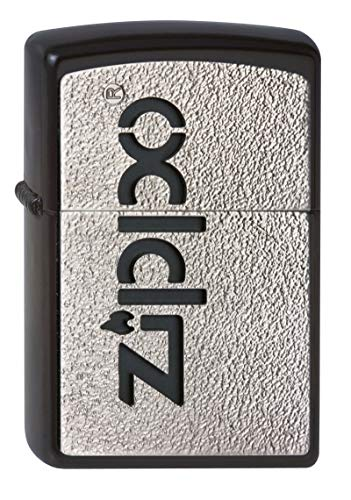 Zippo Zippo Feuerzeug 2002822 Emblem Benzinfeuerzeug, Messing Chrome