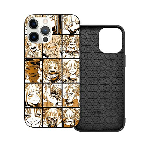 Himiko Toga My Hero Academia Cell Phone Case Compatible with iPhone 12 Mini Pro Max TPU Soft Bumper Gift