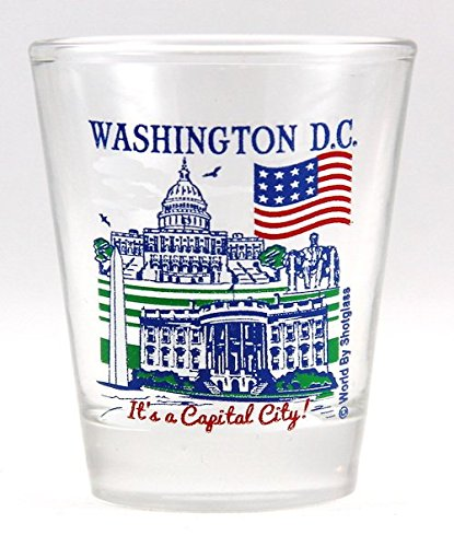 Washington D.C. Great American Cities Collection Shot Glass