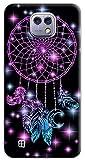 Mixroom Coque de protection en TPU silicone souple pour LG X Cam M683 Attrape-rêves Violet