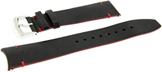Cinturino Vitello Clifton Club Indian Nero 20mm