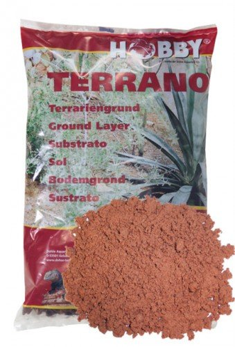 Terrano wüstensand, rouge, diamètre : 3 mm, 5 kg