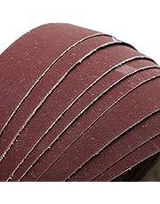 FANLLOOD Schuurband 10 Stuks 40x760mm Schuurbanden P40-1000 Grof Tot Fijnslijpband voor Slijpen van Hout Zacht Metaal Polijsten, 240