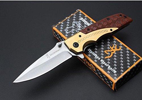 FARDEER Knife Cuchillo de Caza al Aire Libre de excelente Estructura DA-77