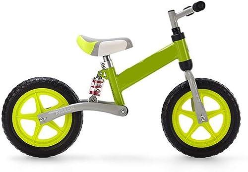 Voiture   enfant Vélo d'équilibre en acier à haute teneur en voiturebone for enfants sans pédale Vélo d'équilibre adapté aux enfants agés de 3 à 6 ans Cultiver la coordination de l'équilibre des enf