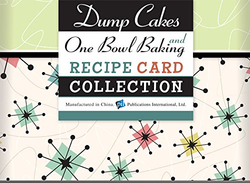 Dump Cakes and One Bowl Baking Recipe Collection Tin (Dump Cookbooks)