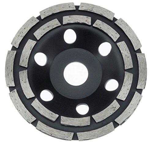 125 mm Diamant Schleiftopf Beton Granit Topfschleifer 20 Segmente Schleifteller