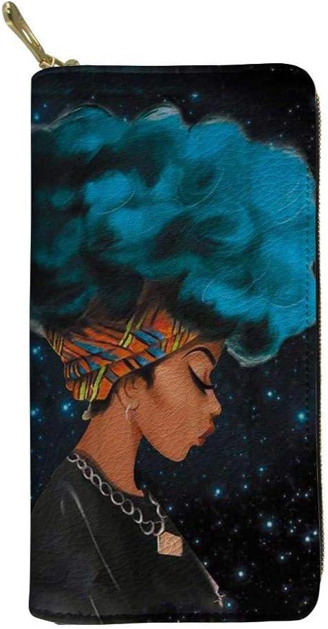 ZYSAJK Black African American Magic Fema Minneapolis Mall Wallets Long Women Very popular Girl