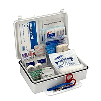 First Aid Only 25 Person OSHA First Aid Kit, Weatherproof Plastic Case from First Aid Only