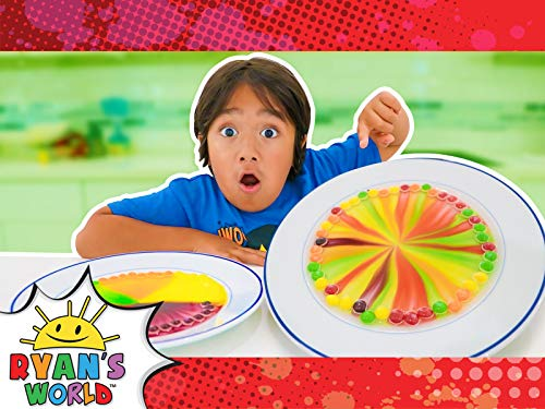 Ryan Super-Sweet Candy Experiments!