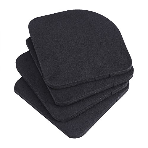 4 stuks trillingsdemper pads, 4 stuks eva wasmachine anti-vibratie pads mat, schokabsorberende wasmachine pads anti-slip mat voor koelkast huishoudelijke apparaten